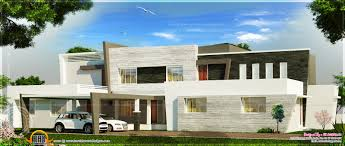 super luxury contemporary villa elevation kerala home design and