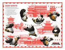 kung fu panda dvd giveaway activity sheets