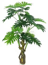 philodendron artificial green plant philodendron 110cm in factory price for