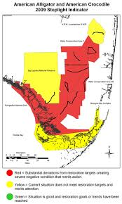 alligators in map monitoring alligators and crocodiles as