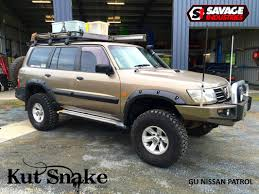 nissan safari off road nissan gu safari patrol kut snake