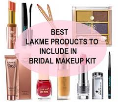 wedding makeup products best lakme products for bridal makeup kit