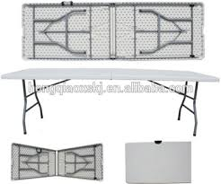 folding banquet plastic table long picnic table outdoor blow