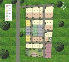 layout of villa park layout plan image of elysium villa park for sale proptiger com
