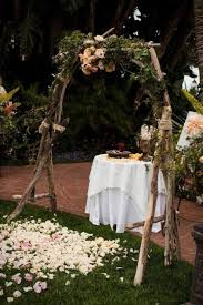 wedding altars 31 charming woodland wedding arches and altars weddingomania