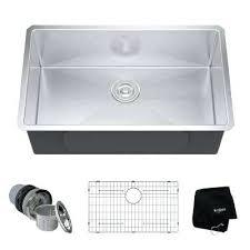 prolific stainless steel kitchen sink kraus single bowl undermount kitchen sink vigo stainless steel sinks