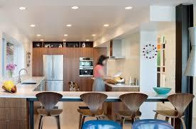 seattle white kitchen backsplash modern with midcentury stainless