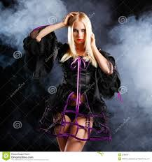 halloween background long woman in gothic halloween style stock image image 32966871