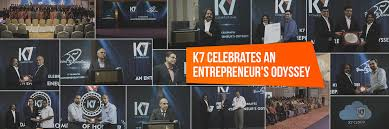 k7 celebrates u0027an entrepreneur u0027s odyssey u0027 k7 computing private