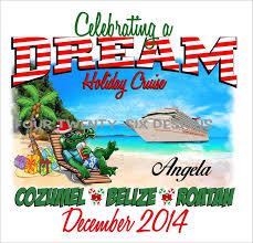 Christmas Beach Gator Cruise Shirt  Custom Cruise Wear