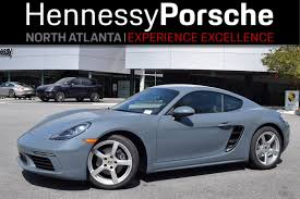 porsche graphite blue interior new cayman inventory in atlanta georgia