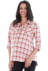Maternity Plaid Shirt Everly Grey Bethany Plaid Button Down Maternity Shirt Designer