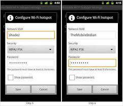 android mobile hotspot how to turn your android phone into mobile wifi hotspot