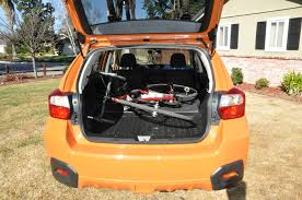 hatchback subaru inside review subaru xv crosstrek u2013 a good car for cyclists road bike
