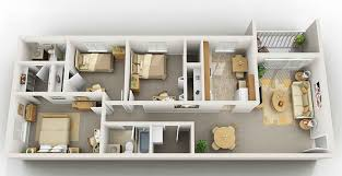 three bedroom floor plans three bedroom apartment in blacksburg va 3 bedroom student