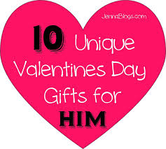 unique valentines day gifts for him blogs february 2014