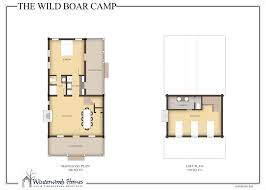 Camp Plans by The Wild Boar Camp Winterwoods