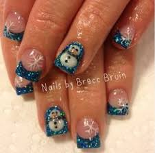 christmas gel nails google search nails pinterest