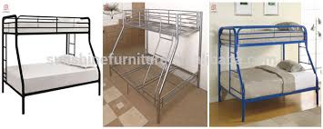 Cheap Twin Over Full Three Sleeper Bunk Bed Metal Double Bunk Bed - Three sleeper bunk bed