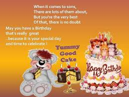 warm birthday greetings for your son free birthday wishes ecards