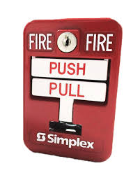 simplex 2099 9139 weatherproof manual pull station