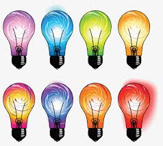 colored fluorescent light bulbs color fluorescent bulb light bulb color fluorescent light png
