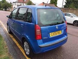 2005 fiat idea immaculate mot tax 1 owner warranty in north