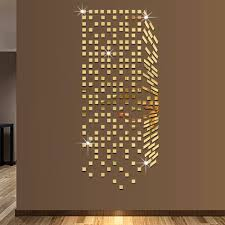 mirror mosaic background wall stickers home decor diy creative mirror mosaic background wall stickers home decor diy creative environmental protection wall mirror