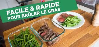 cuisine facile rapide recette paléo facile et rapide pour brûler la graisse