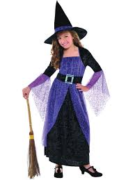 wizard of oz wicked witch child costume girls black witch costume justice league dc comics wonder woman