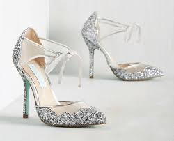 wedding shoes glitter sparkly silver wedding shoes for snazzy weddbook