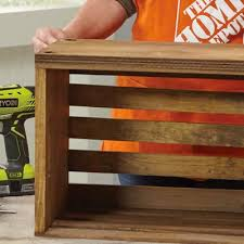 How To Build An End Table How To Build A Crate End Table Pod Png