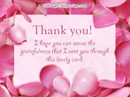 thank you card messages 365greetings