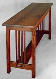 Hall Table Plans Mission Sofa Table Furniture Pinterest Sofa Tables Tables