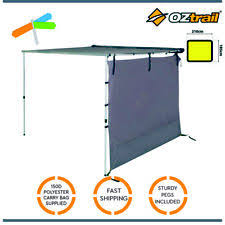 Oztrail Awning Oztrail Rv Shade Awning Tent 2 5m Only Ebay
