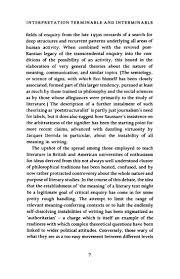 Narrative Resume 57864268 Umberto Eco Interpretation And Over Interpretation