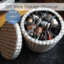 Orange Storage Ottoman Diy Shoe Storage Ottoman Goodwill Of Orange County