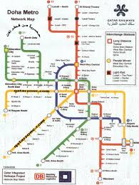 Qatar Route Map by Doha Subway Map The Gulf Blog