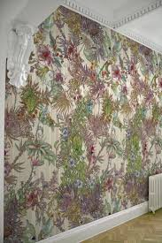 356 best wallpaper and fabric images on pinterest fabric for the powder room timorous beasties wallcoverings opera botanica