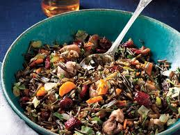 rice dressing roasted chestnuts cranberries recipe 1