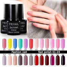 aliexpress com buy mdskl 132 colors uv gel nail polish 10ml