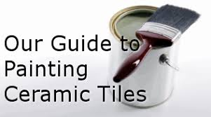 How To Paint Old Bathroom Tile - painting ceramic tiles paint old kitchen u0026 bathroom tiles