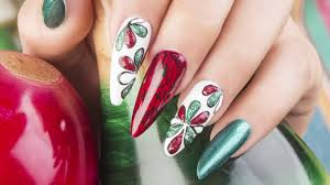 mexican print organic nails youtube