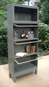 vintage industrial metal rolling cart library want one for