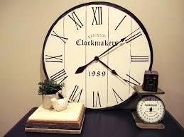 round wall clocks large u2013 philogic co
