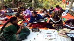 live art and craft workshop by fevicryl hobby ideas in kolkata