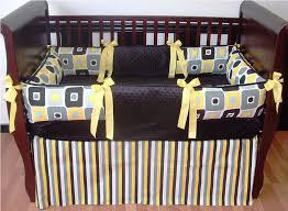 geometric yellow nursery bedding chevron patterns u2014 nursery ideas