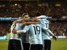 black friday argentina 2017 international friendlies argentina ride on gabriel mercado goal