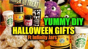 diy halloween treats gifts pumpkin spice latte donuts monster
