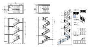 Stair Cad Block by Free Rc Stair Details U2013 Cad Design Free Cad Blocks Drawings Details